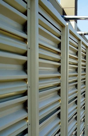 BaSteel Steel Louver Fence