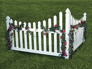 We Have A Variety Of Styles Garden Borders Available In Order To Meet All Your Wants Needs Corner Accent Fencing Can Make Nice Decorative Touch